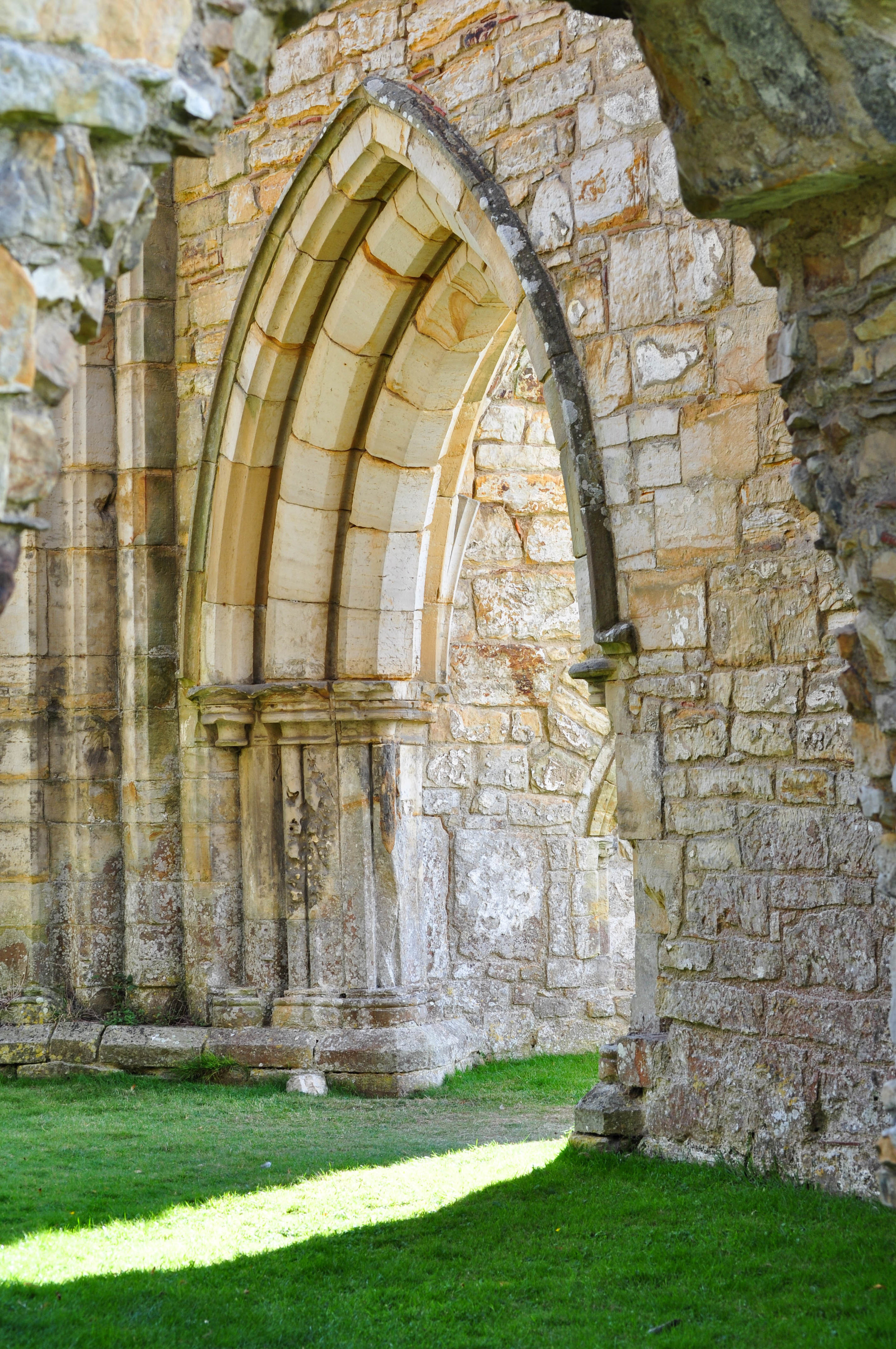 Abbey ruins, England 2011
