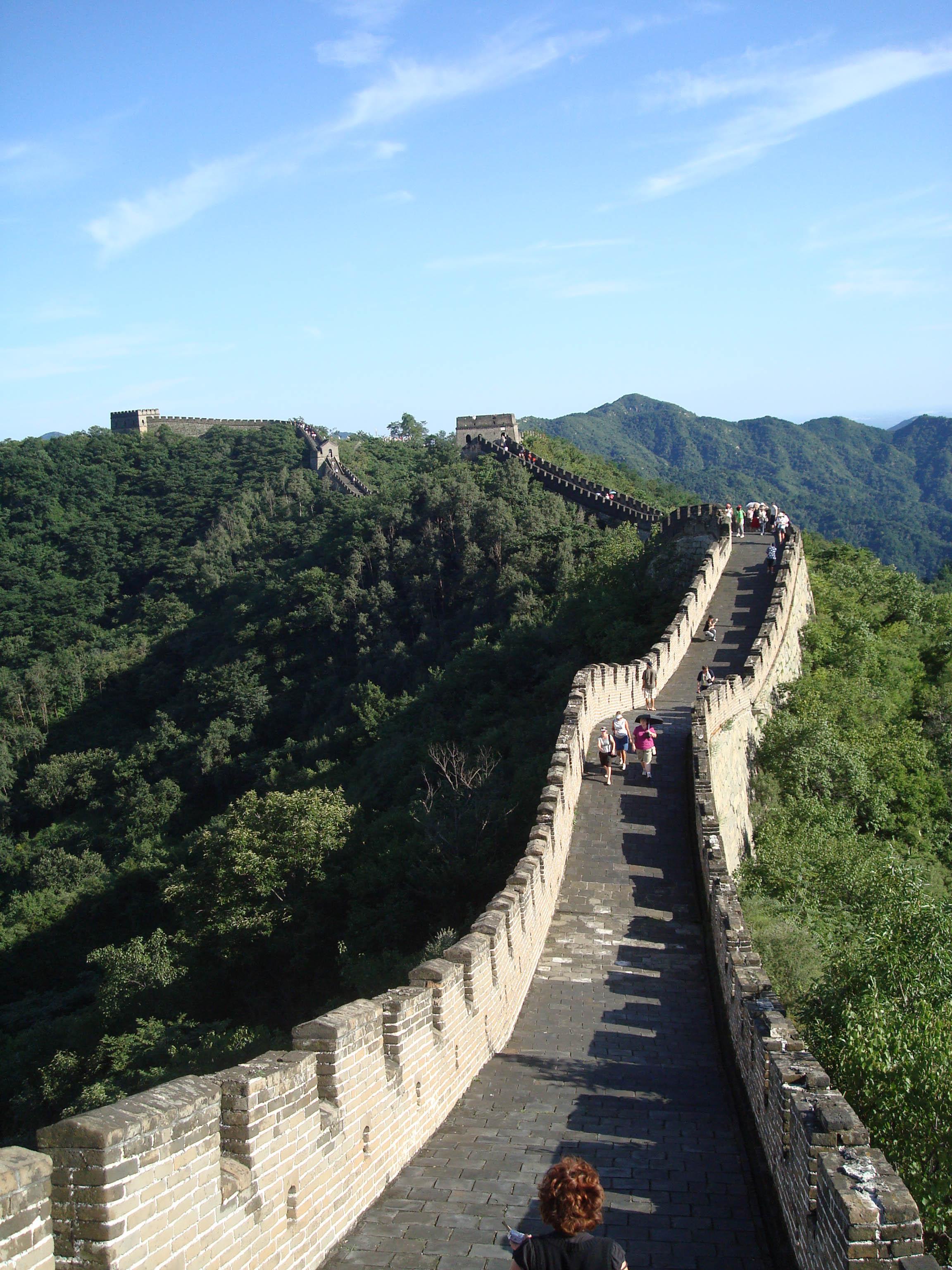 The great wall of China, China 2008