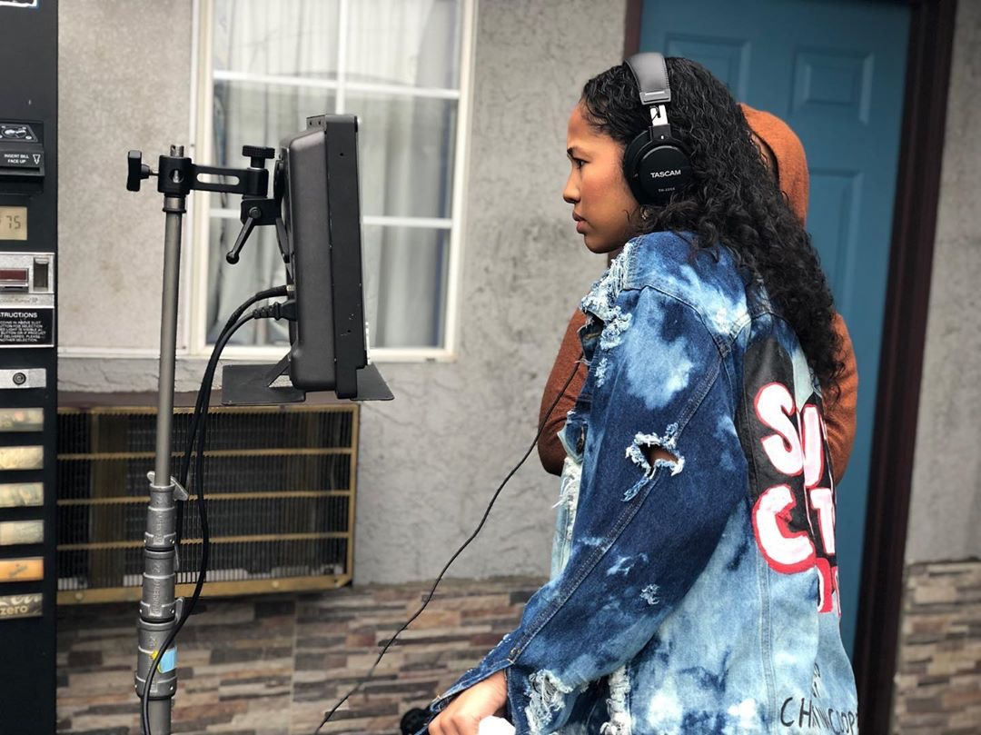Behind the scenes of South Central Love of Christina Cooper