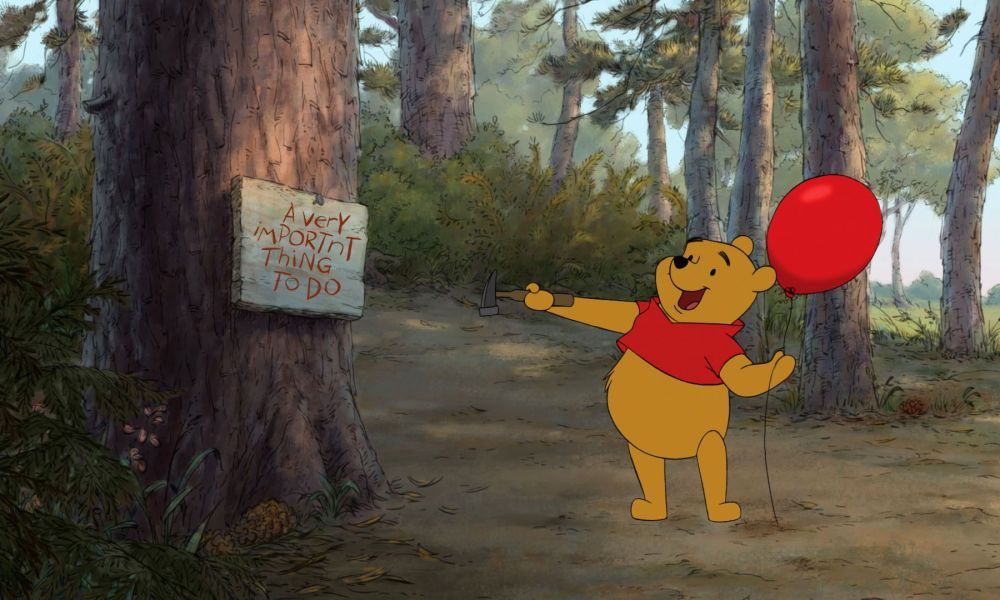 """A very import'nt Thing To Do"" Thanks Pooh... I hear ya buddy"