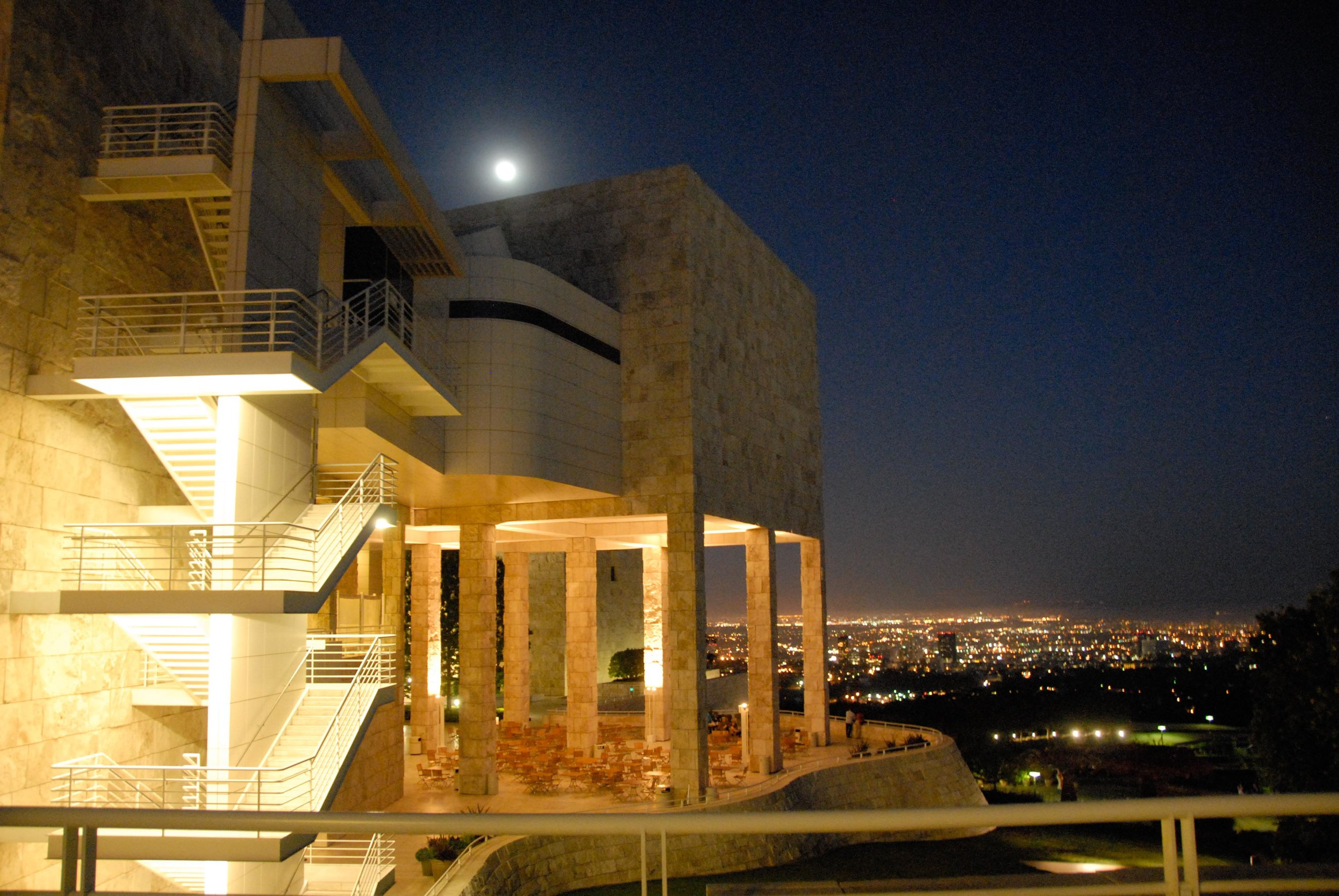 The beautiful Getty