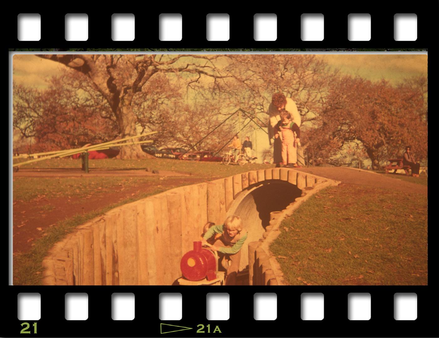 Cornwall Park Playground - c1976