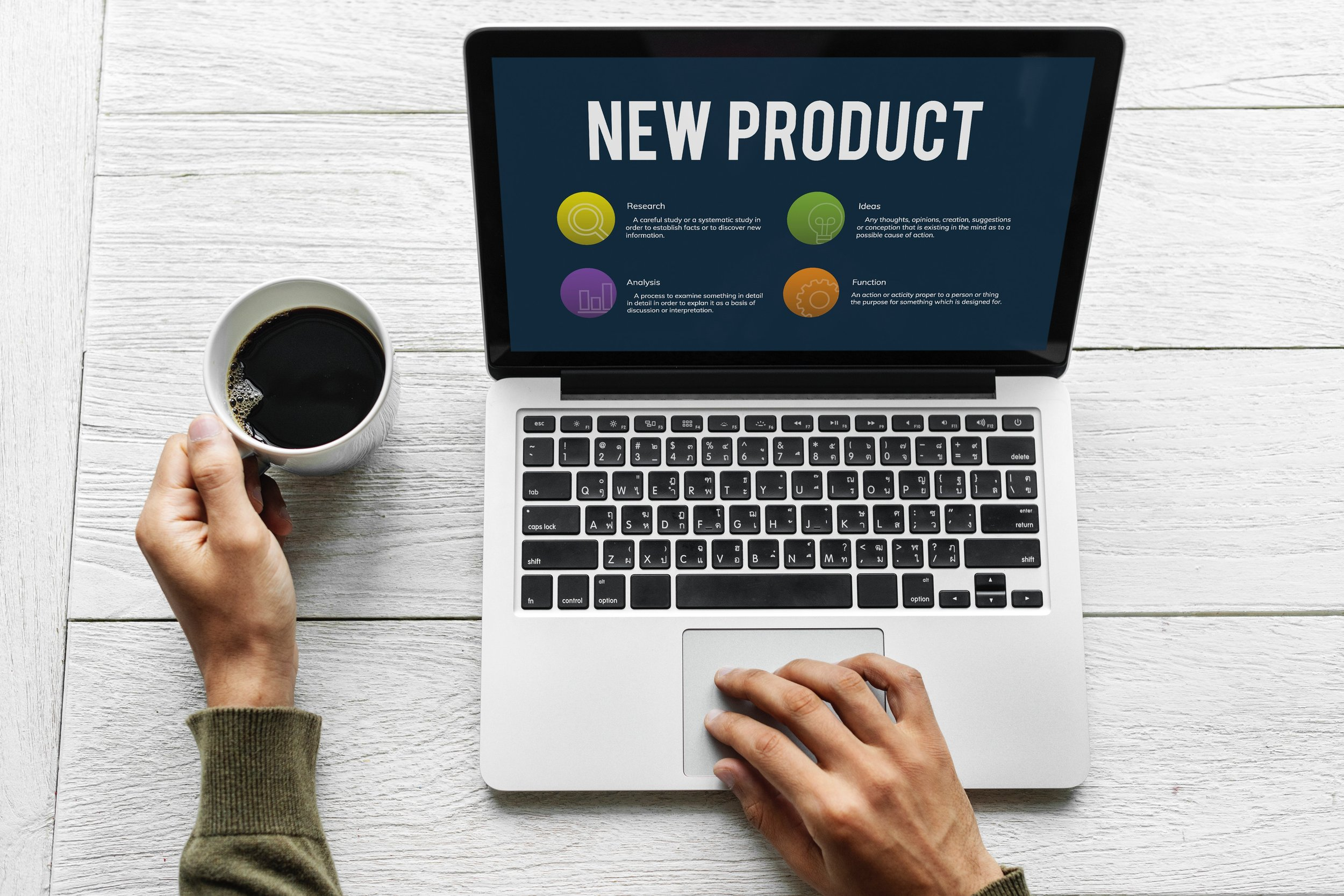 how to create a product