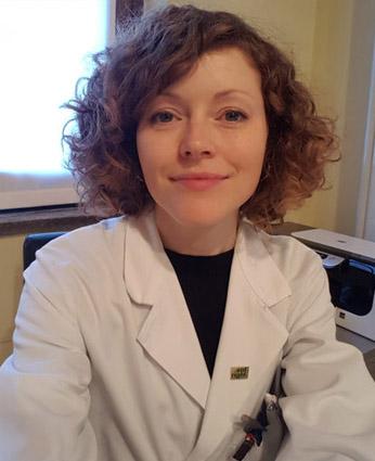 Dottoressa Elaine Tyndall  Medico chirurgo, specialista in Scienze dell'Alimentazione