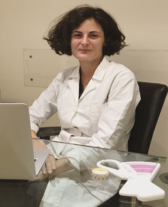 Dottoressa Mila Bonomi   Coordinatrice del servizio di valutazione nutrizionale Top Physio Clinics