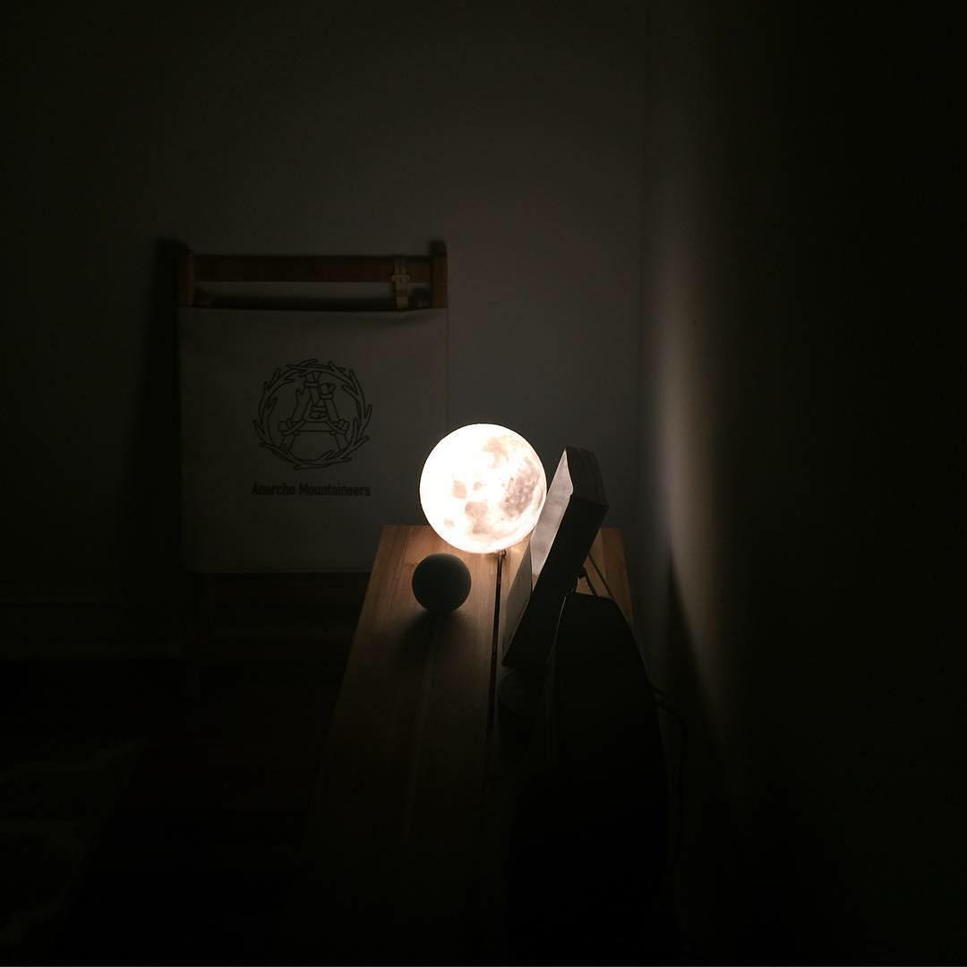 #lunalamp #月球燈luna #月亮燈#acornartstudio  photo by @panism