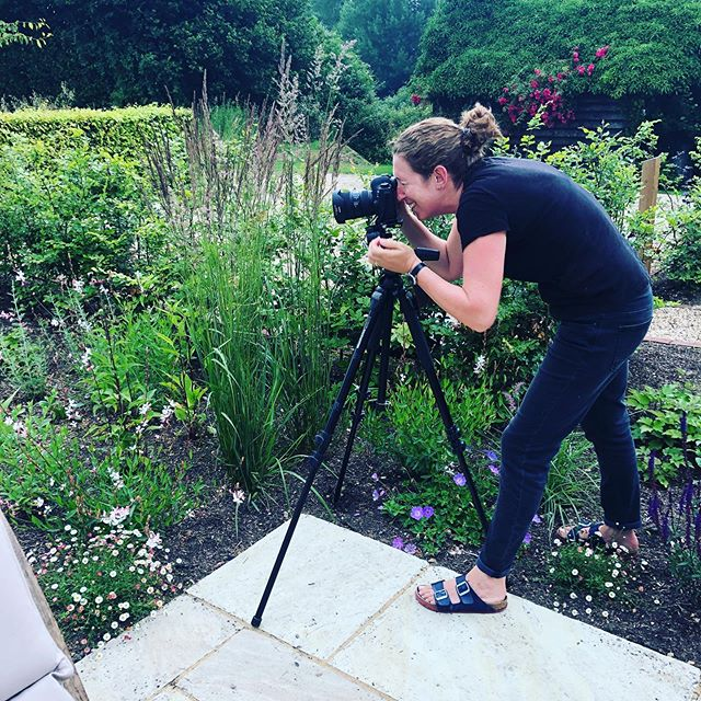 Capturing the essence of gardens we have created even if it means lying on the ground! Thanks to Eleanor Scan for taking the photos which will be on our website soon.