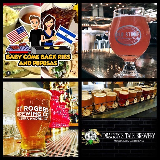 Join us on 🍻Wednesday at @oldstumpbrewery from 4:30-9:30. On 🍻Friday we will be at @rtrbrew from 5-9:30 and 🍻Saturday we will be at @dragonstalebrewery from 5-11pm. Come on down to any of these breweries to try our delicious ribs and pupusas. They all have amazing craft beer that pairs up nicely with our food! . . . . . #babycomebackribsandpupusas #pupusassalvadoreñas #tenderjuicyribs #pomona #oldstumpbrewery #wednesday #rtrogersbrewingco #friday #sierramadre #montclair #dragonstalebrewery #saturday #greatcraftbeer #yummyfood #elsalvador #salvigirl #usa #bbqguy