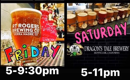 Join us Friday at @rtrbrew or Saturday at @dragonstalebrewery and have some great craft beer with the best pupusas and ribs in town. . . . . . #babycomebackribsandpupusas #pupusas #babybackribs #greatcraftbeer #friday #night #saturday #night #bestpupusasintown #bestbabybackribs #yummyintummy #sierramadre #montclair #salvigirl #bbqguy #elsalvador #usa