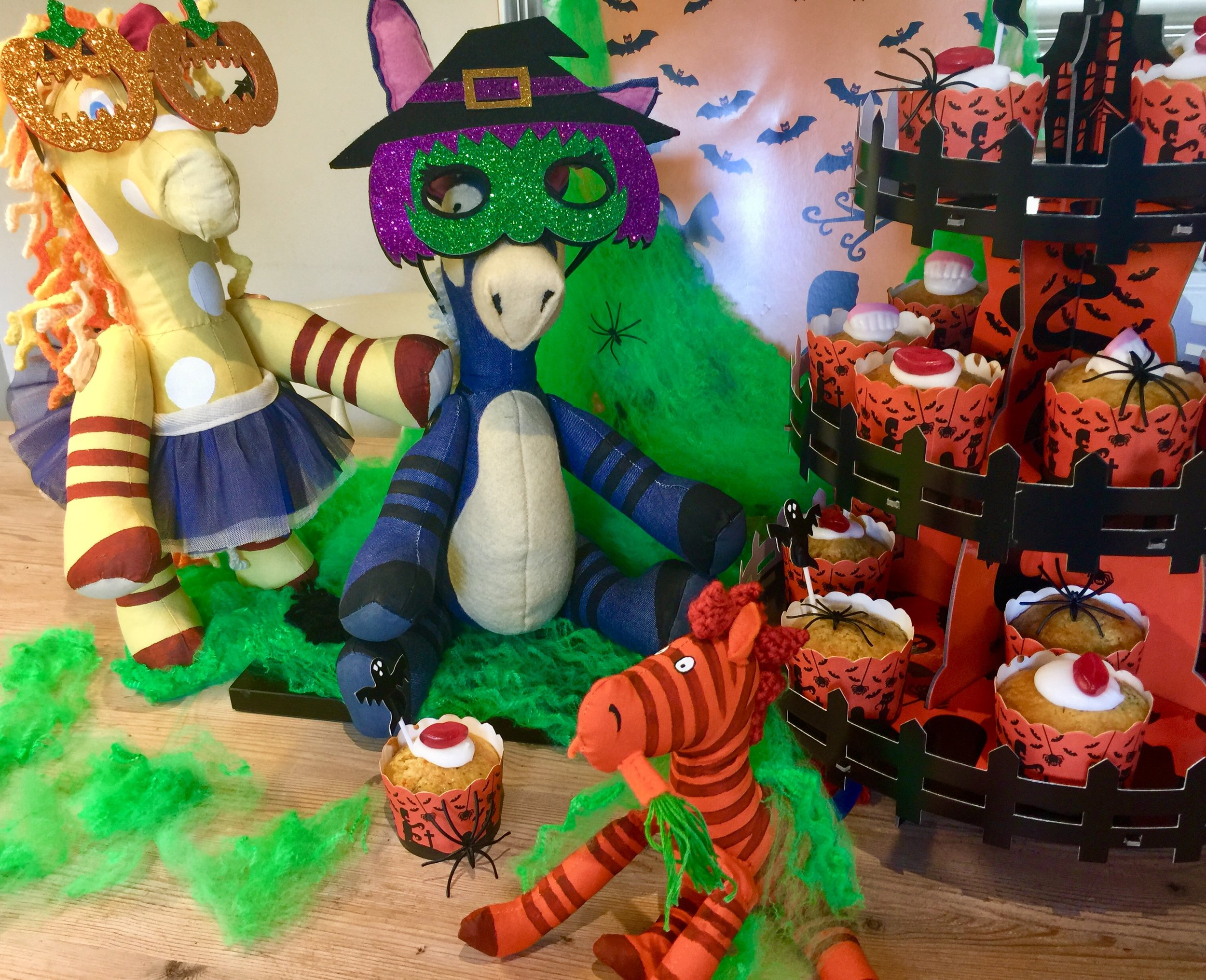 Happy Halloween! - For a fun Halloween treat, why not try making Henry's cupcakes with grated pumpkin instead of carrot?