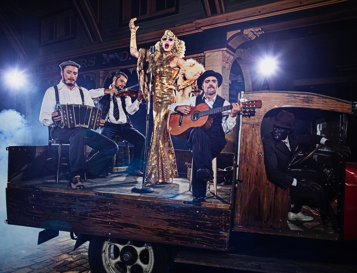 La Diva y los Músicos The Diva and Musicians