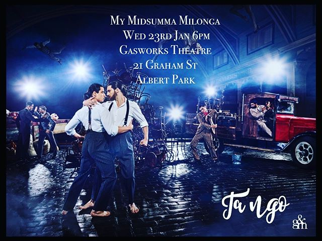 My Midsumma milonga opening night 23rd Jan we are relaunching our sensational tango series as part of the Midsumma festival join us to celebrate 6pm onwards. @midsummafestival #midsumma2019  #gerardandmarc #midsummafestival #midsumma #tango