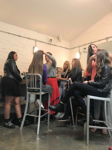 Cassie Lomas Makeup Artist Course Manchester