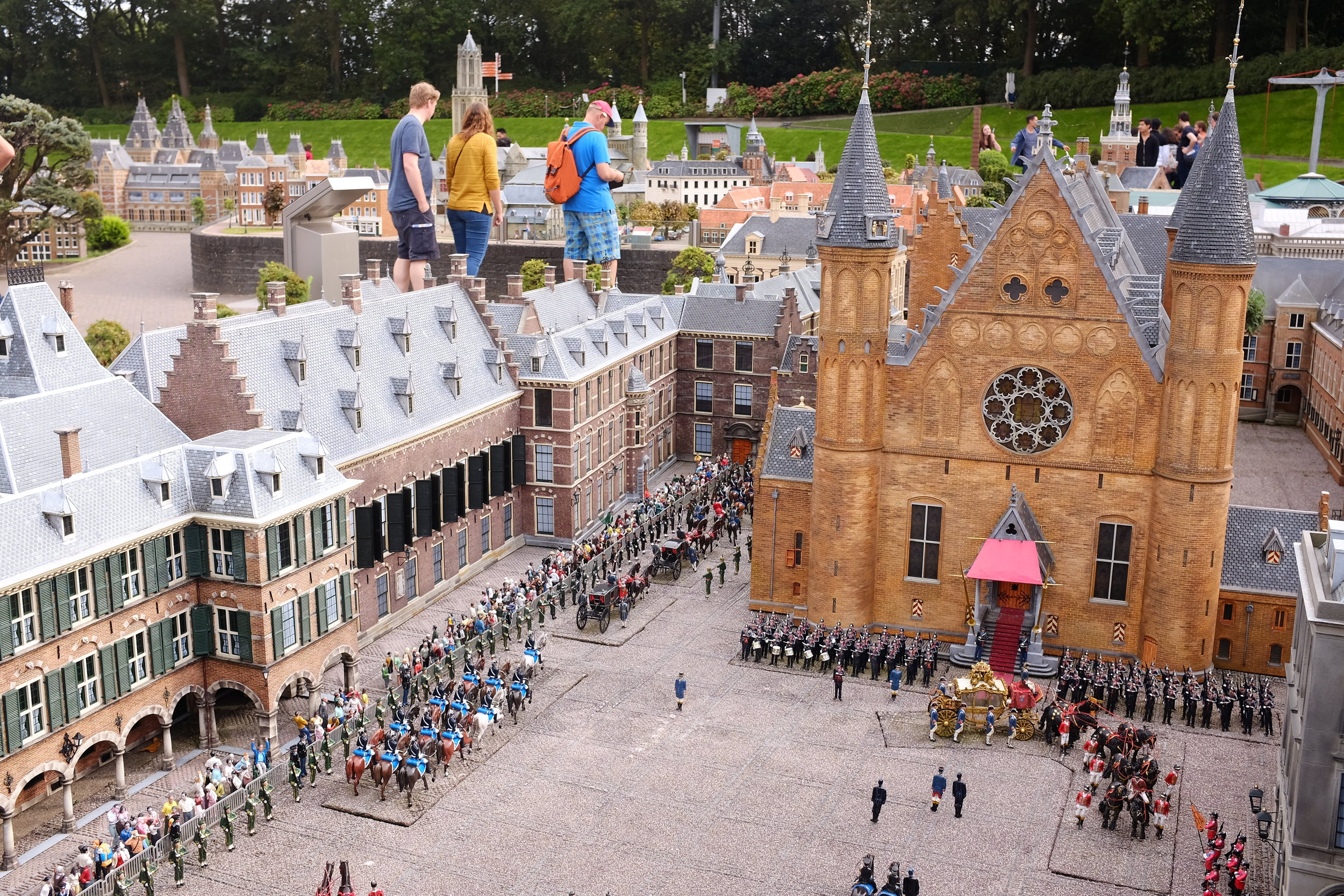 Het Binnenhof The Hague (National Parliament)