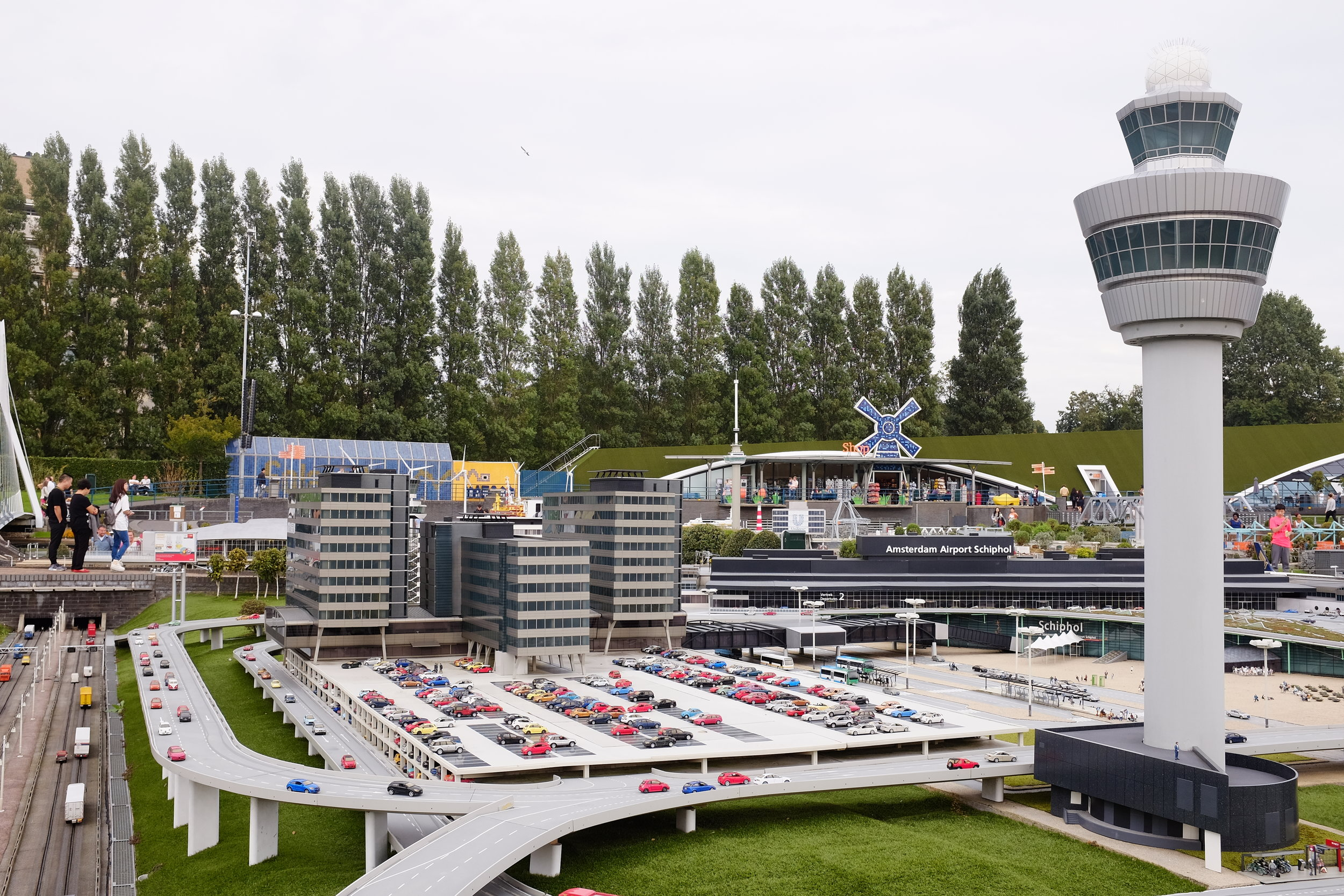 Schipol Airport miniature