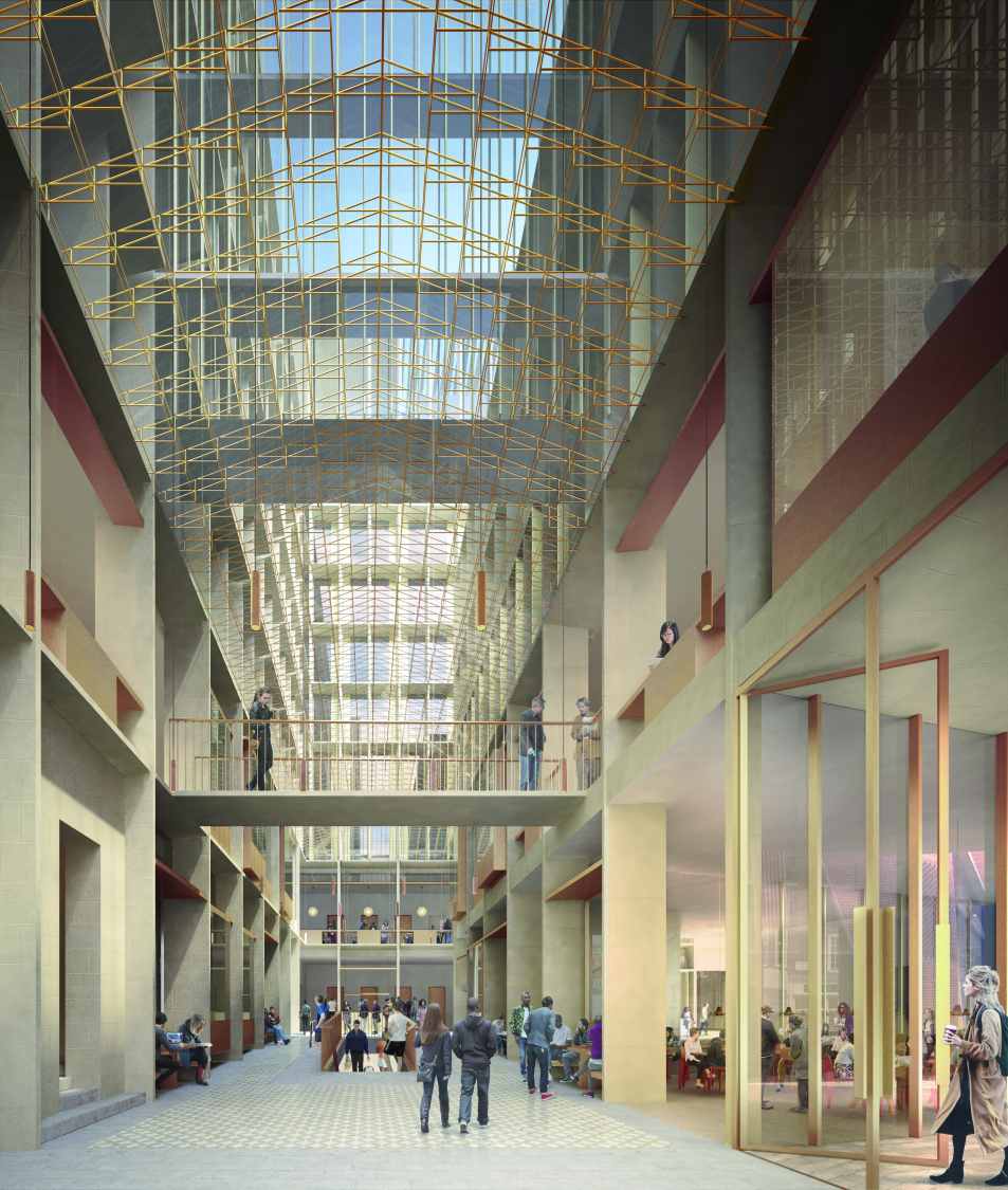 LSE Marshall Building Competition - Arcade