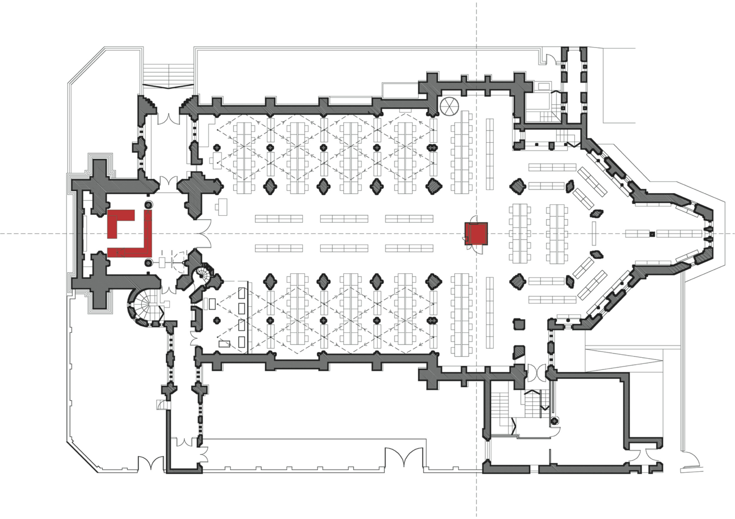 QMUL Medical School Library plan