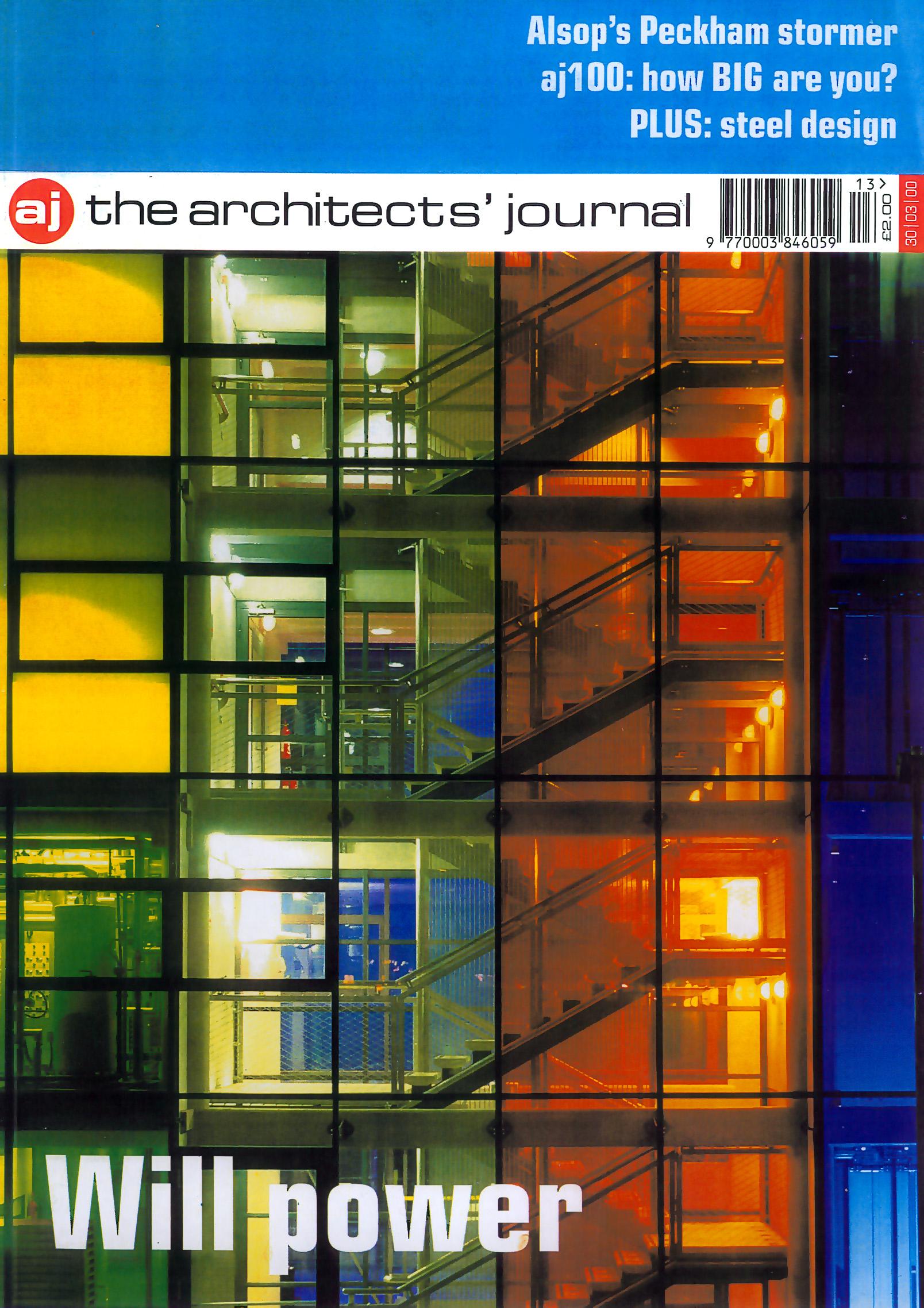 Architects Journal publication