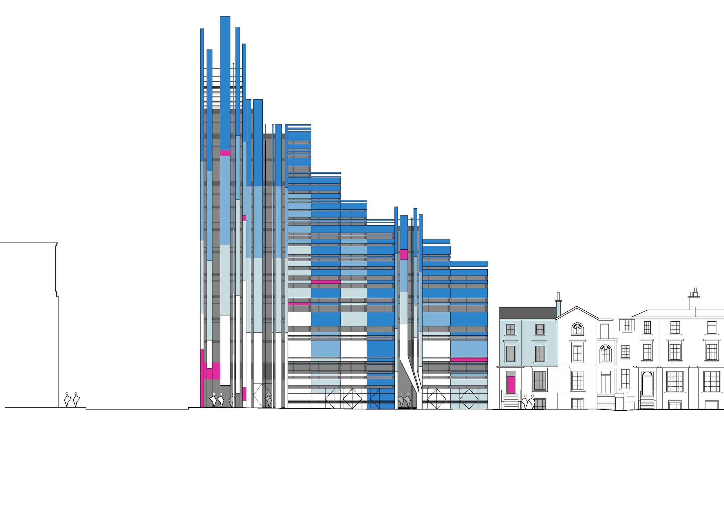 Westbourne Park Church + Student housing
