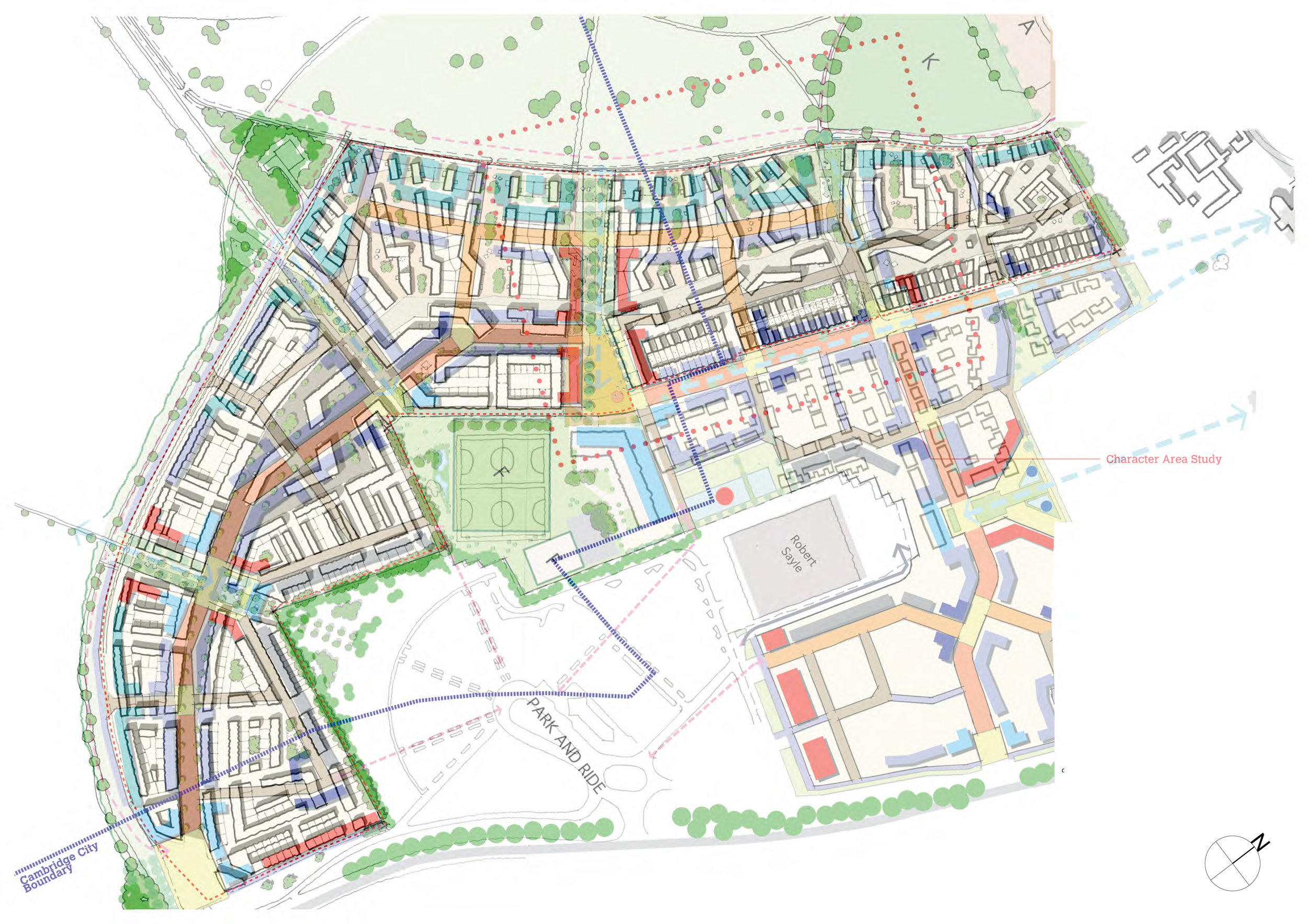 Overlay analysis with Cambridge City Parameter Plan