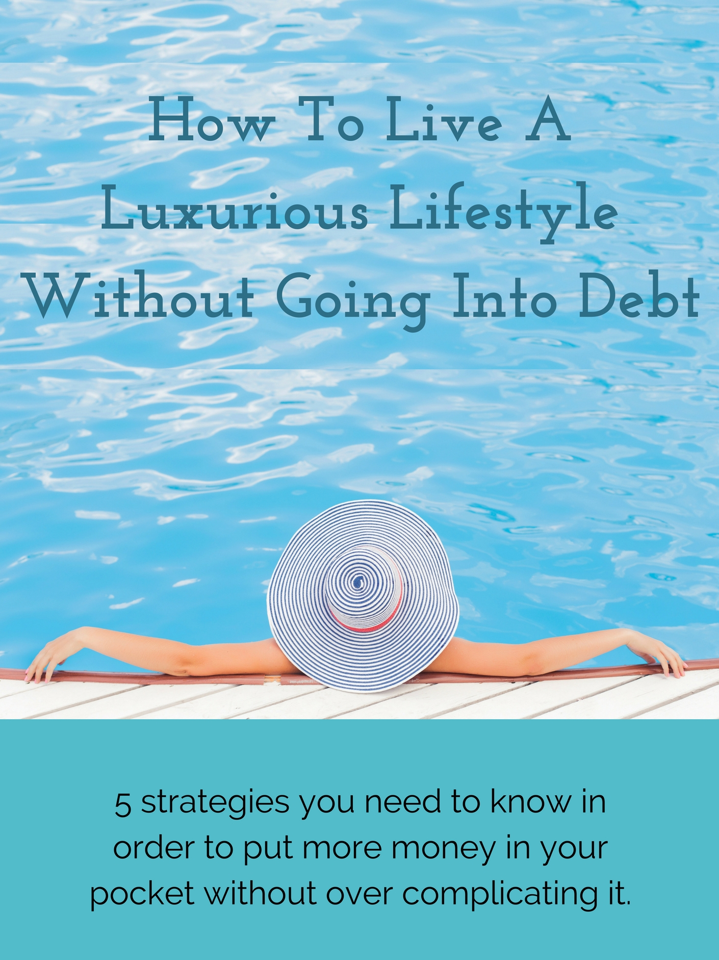 How To Live A Luxurious Lifestyle Without Going Into Debt E-Course - Enter HereThis course is a companion to my book. Together, we will go step-by-step through the 5 strategies with videos and worksheets to guide you along the way.You Get:10 Videos4 WorksheetsThe book, of courseand tons of bonus content