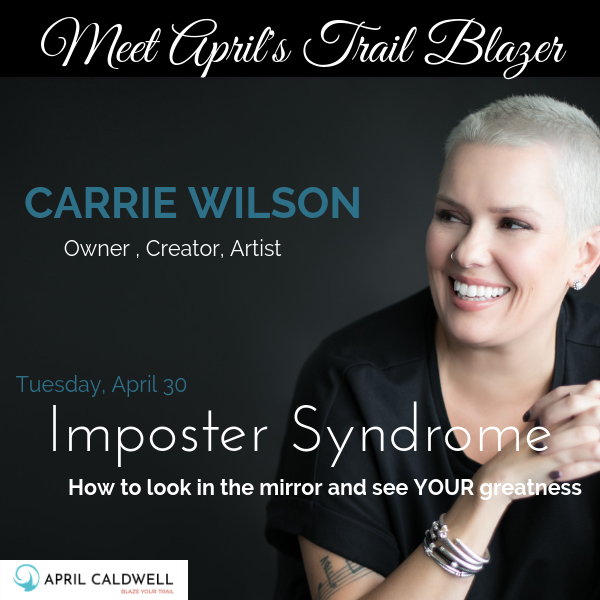 Carrie Wilson April Trail Blazers Event Jacksonville