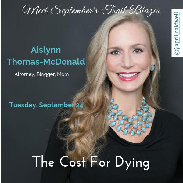 Trail Blazers September Aislynn Thomas-McDonald
