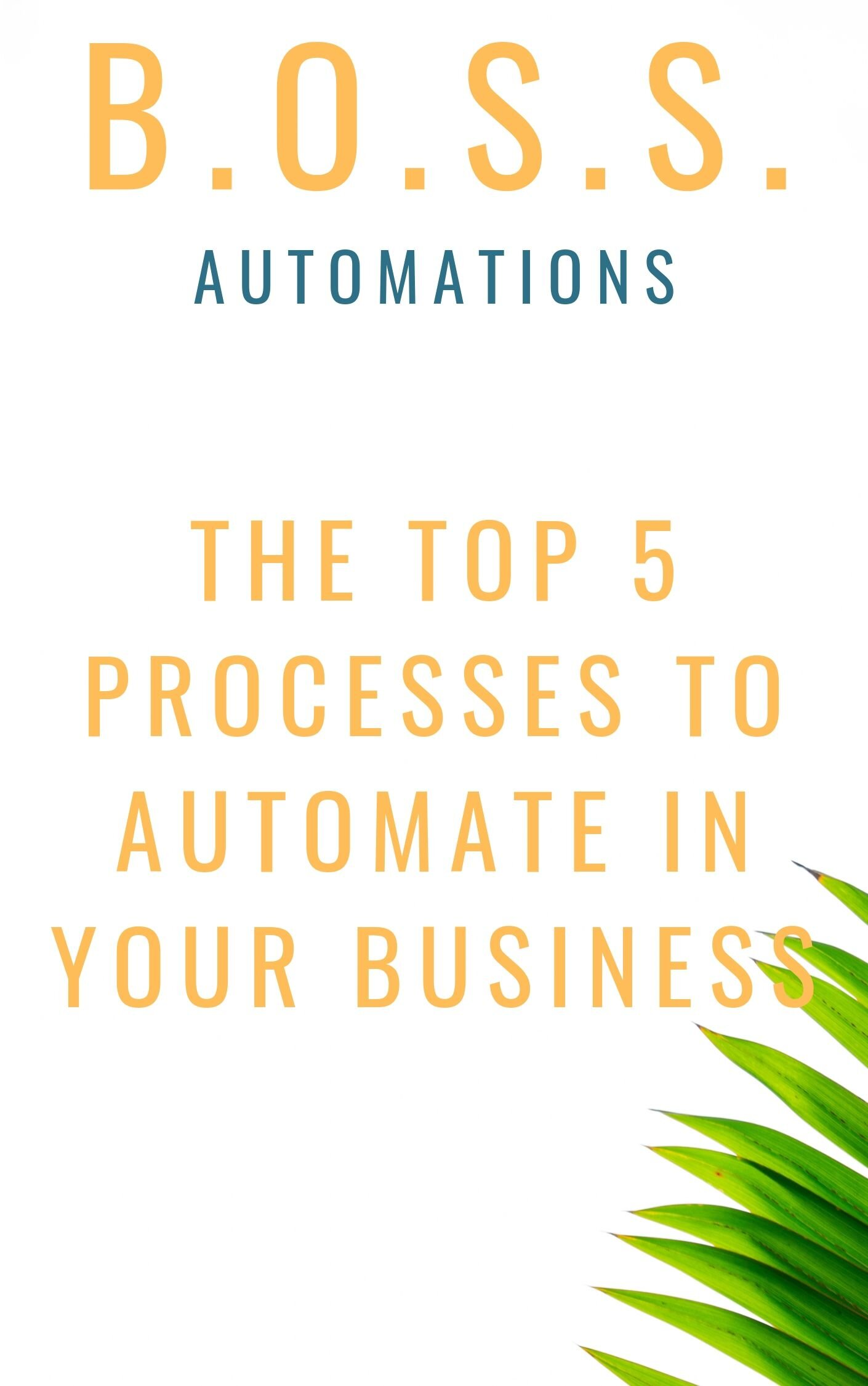 Get started with Automation - Top 5 ways to automate your business