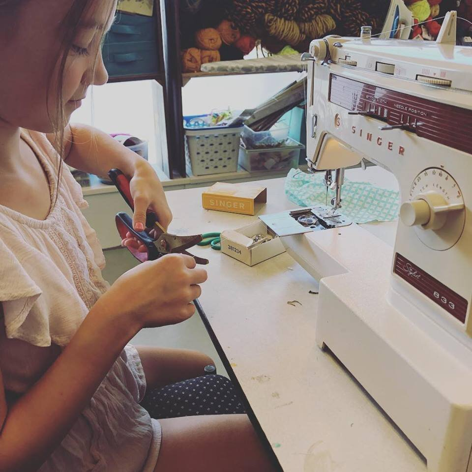 Sewing Lessons for All Ages! - Learn more ➝