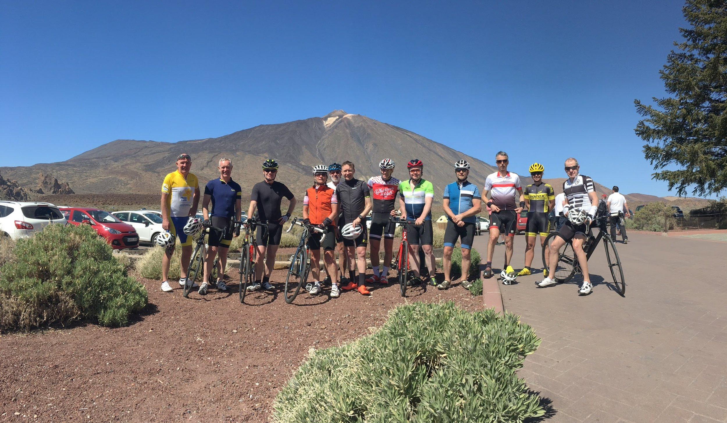 Mount Teide cycling Group