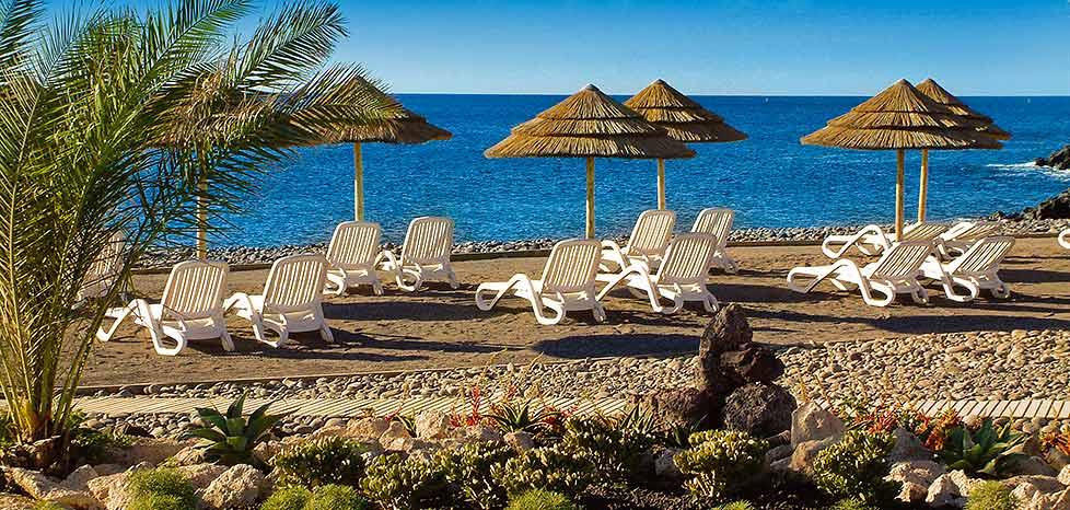 Beach at the San Blas Hotel