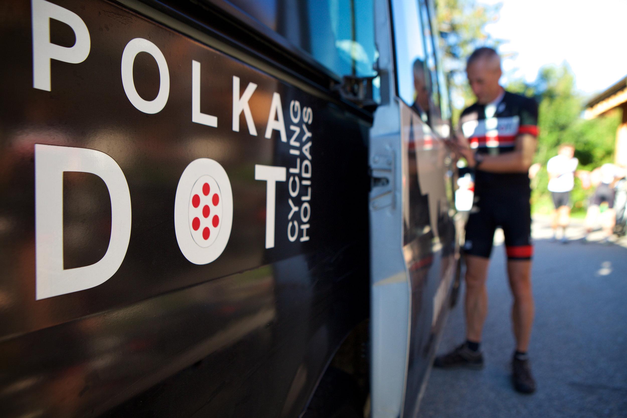 Polka Dot Cycling Support