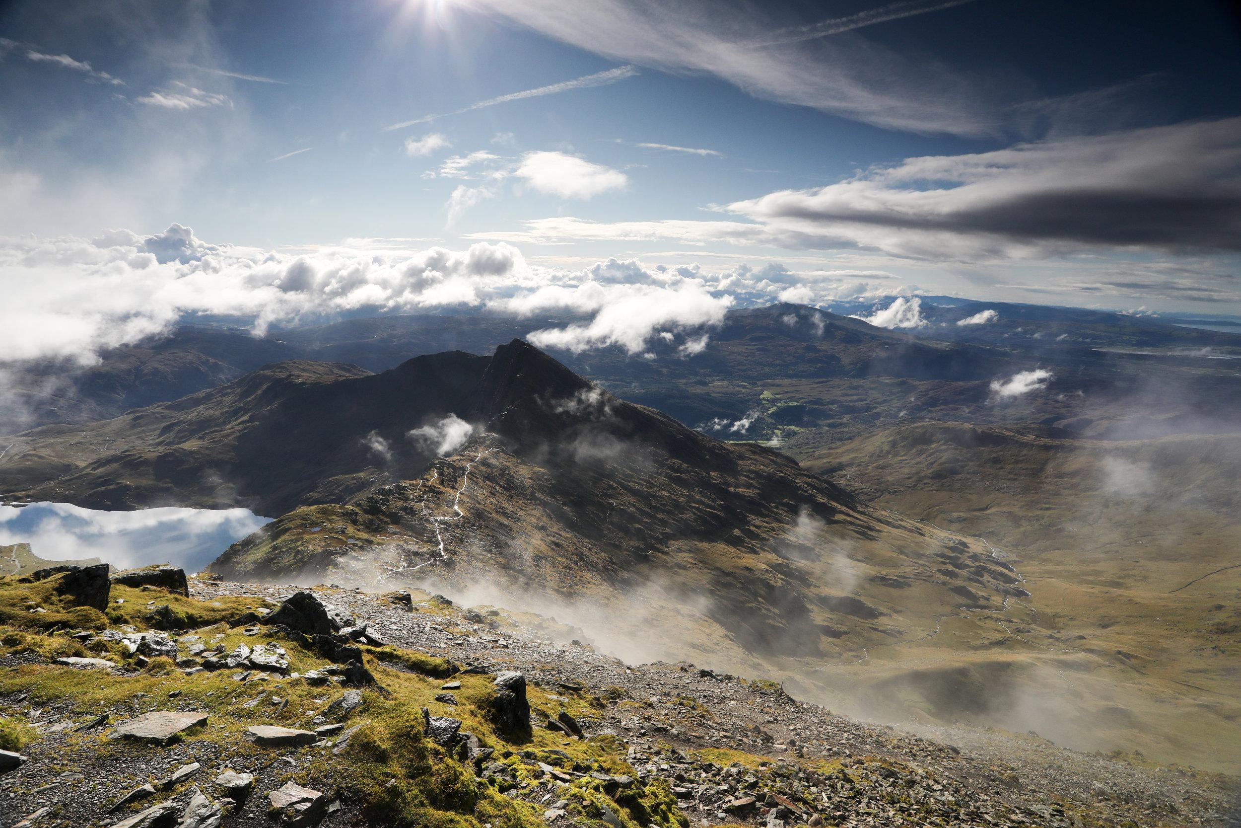 Mountain adventure. Taylor Wimpey, Salomon, Invesco Perpetual, Arc'teryx, Suunto.