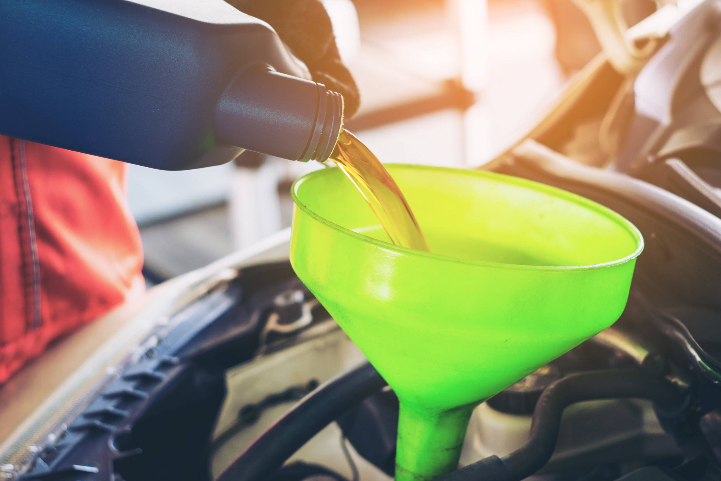 FREE    FULL SERVICE WASH   With Oil Change   Learn More