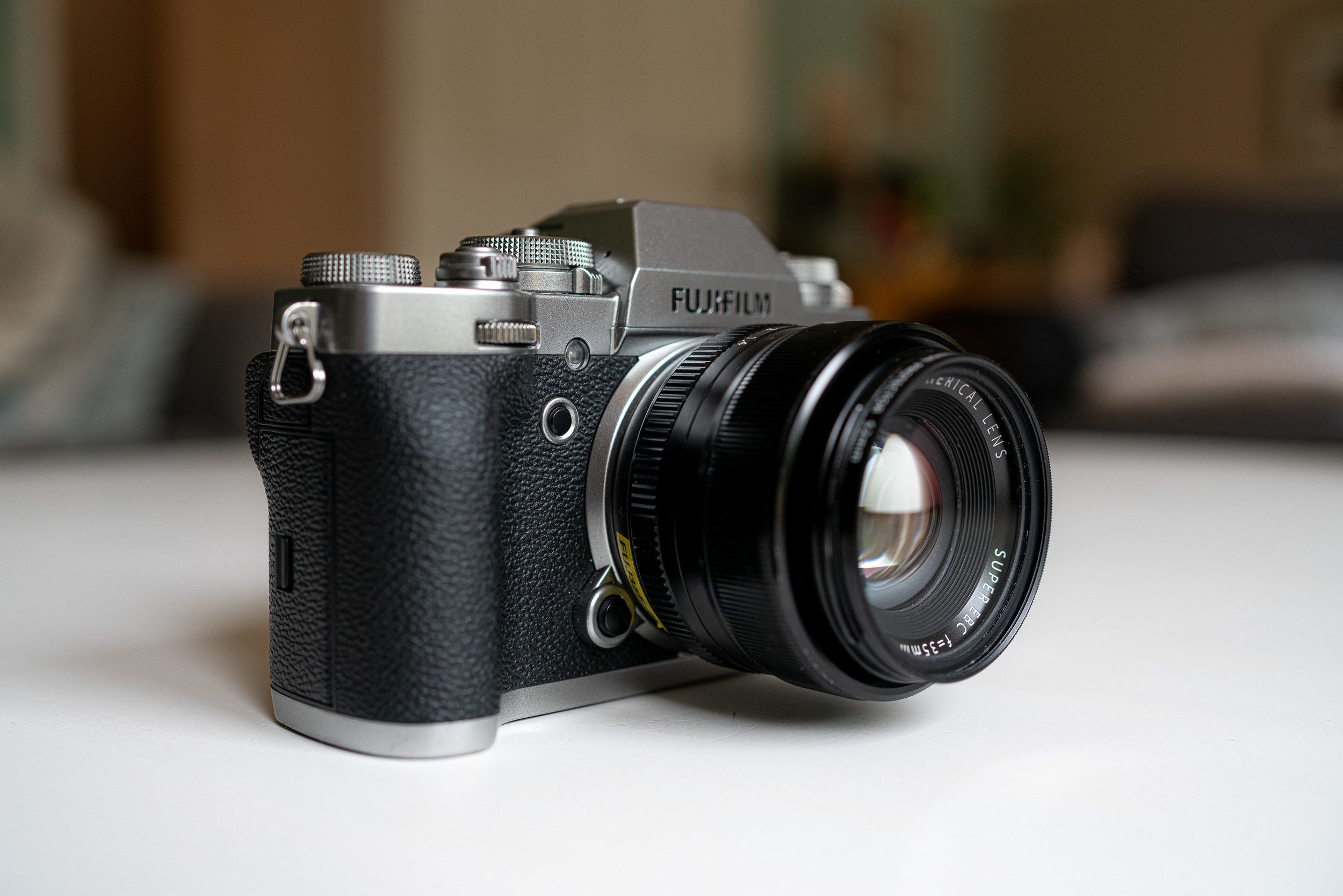 The Fujifilm X-T3.