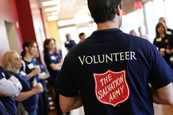 Photo courtesy of The Salvation Army