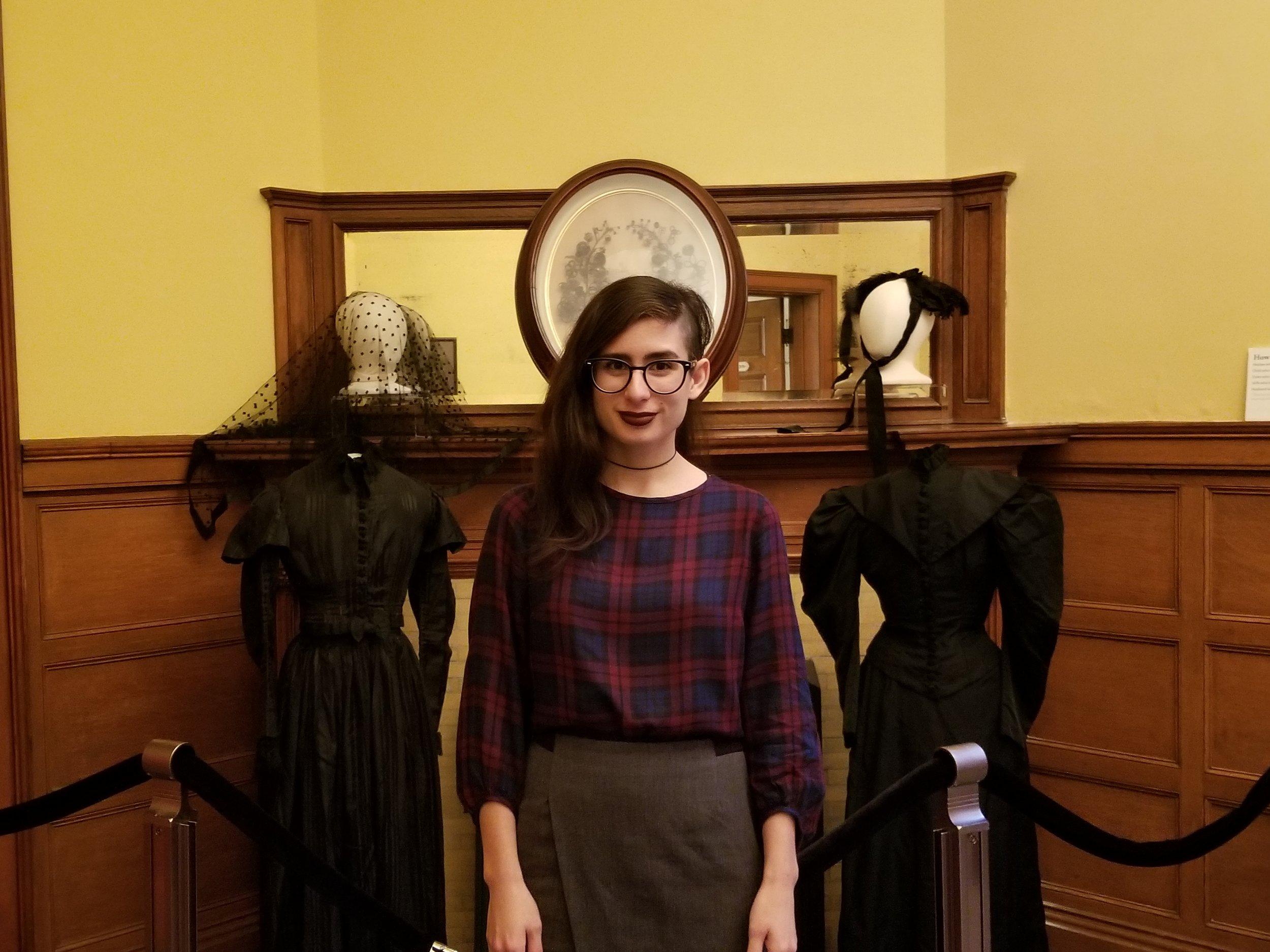 Museum Curator Morgan Valenzuela