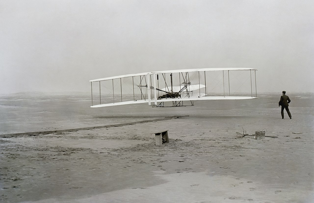 Wright Brothers' First Flight December 17, 1903