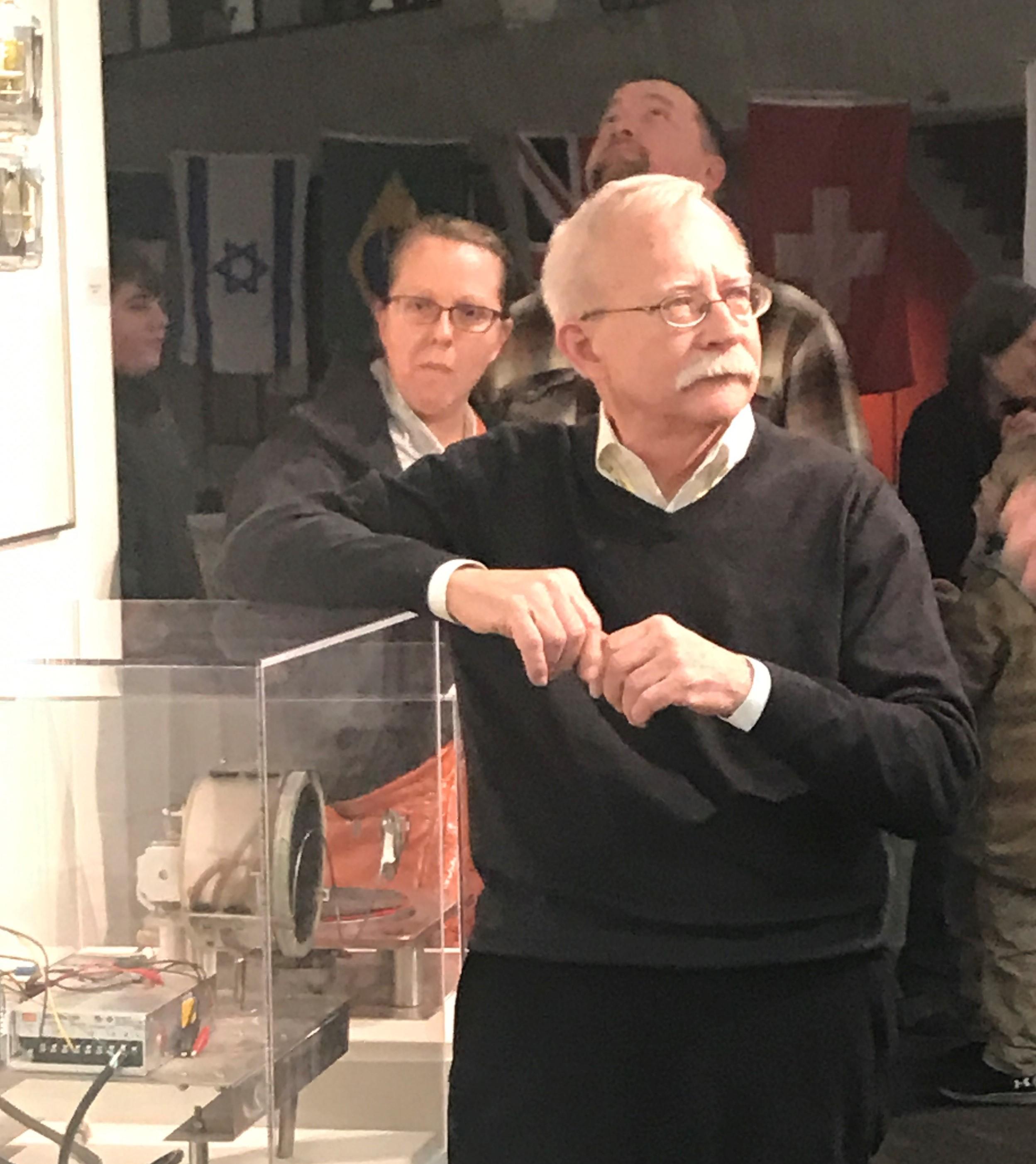 2017 Fermi Lab Artist in Residence Jim Jenkins
