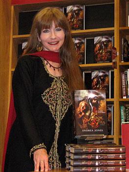 Author Andrea Jones courtesy of Reginetta Press