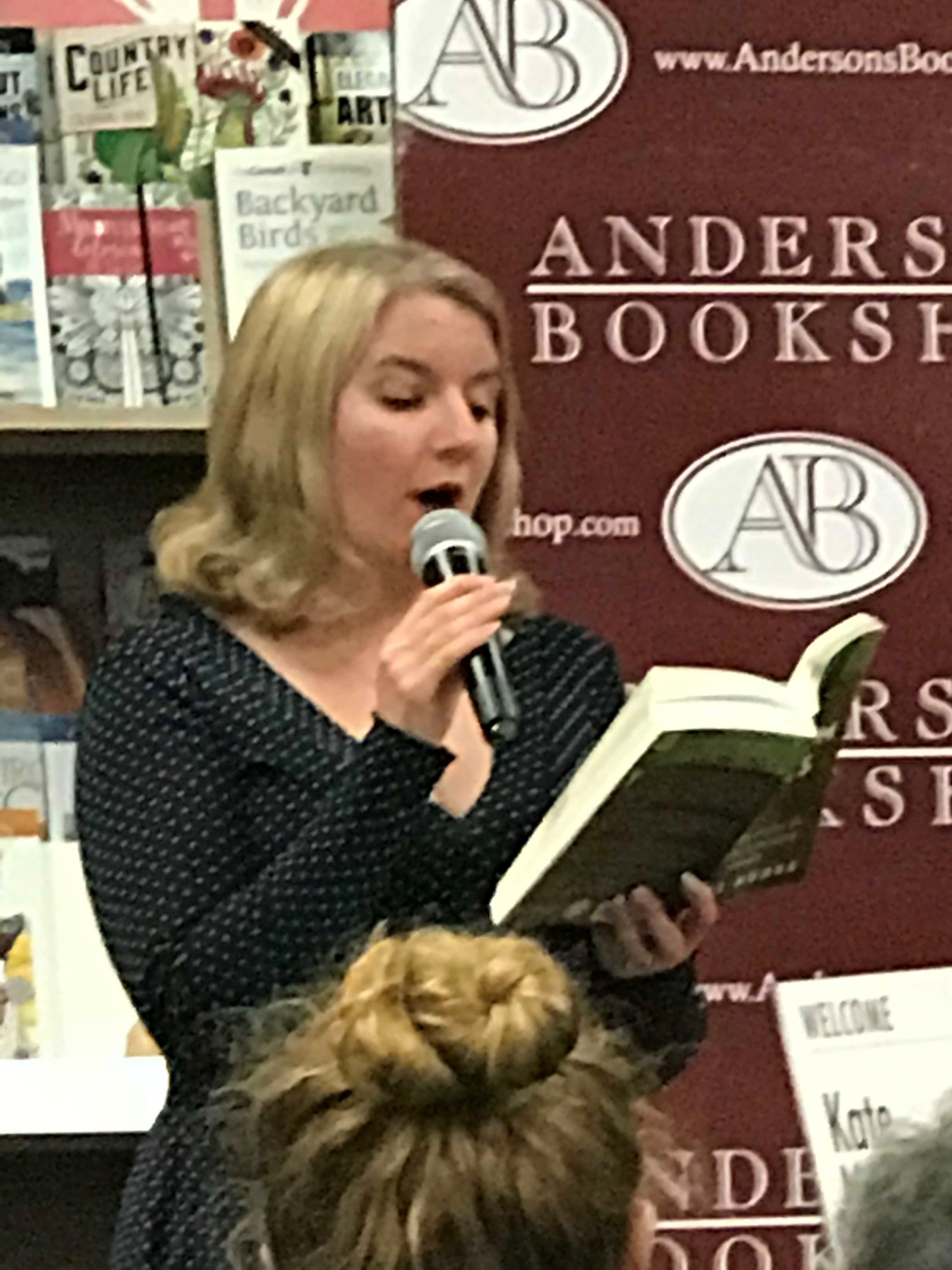Author Kate Moore reads from Radium Girls