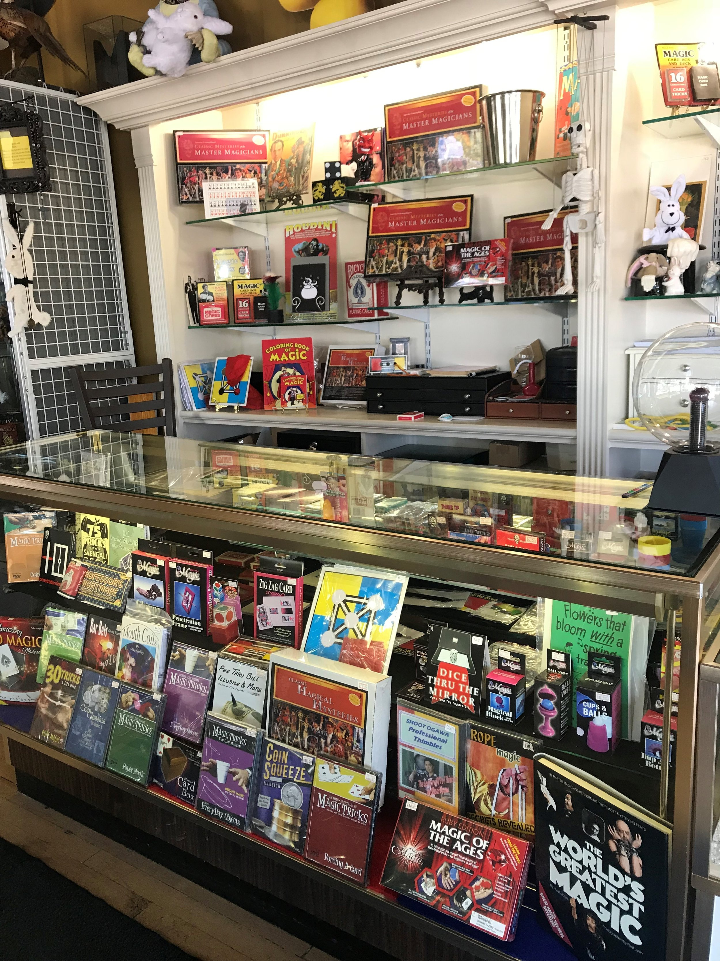 Illusions abound at Bob James Magic & Curiosities in downtown Elmhurst