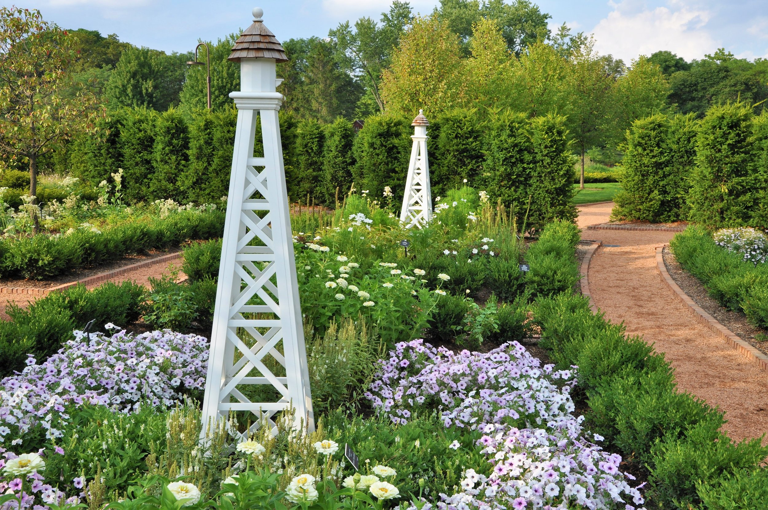 Cantigny reopened its formal gardens this summer after a months long redesign  (photo courtesy of Cantigny)