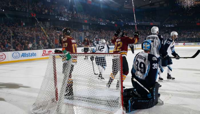 The Chicago Wolves are ready to celebrate 25 years on the ice in Rosemont at the Allstate Arena. (photo courtesy of the Chicago Wolves)