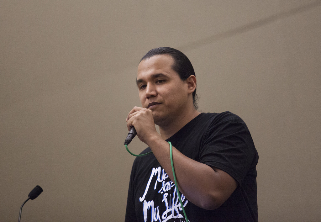 Rapper Tall Paul is among the Native Americans taking part in College of DuPage's annual Native American Symposium