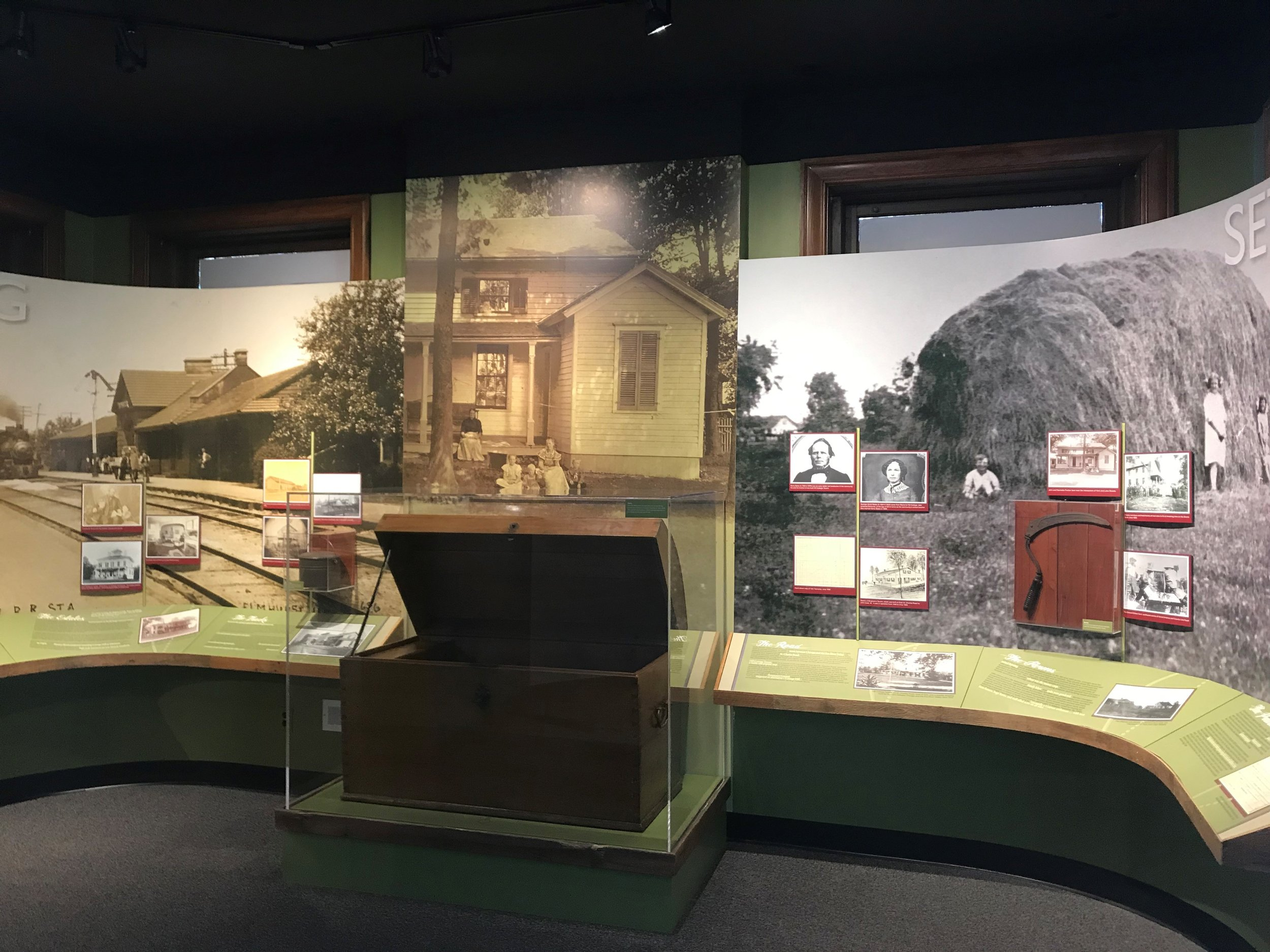 "The Elmhurst History Museum's ""By All Accounts"" exhibit goes from the city's earliest settlers to modern day DuPage County"
