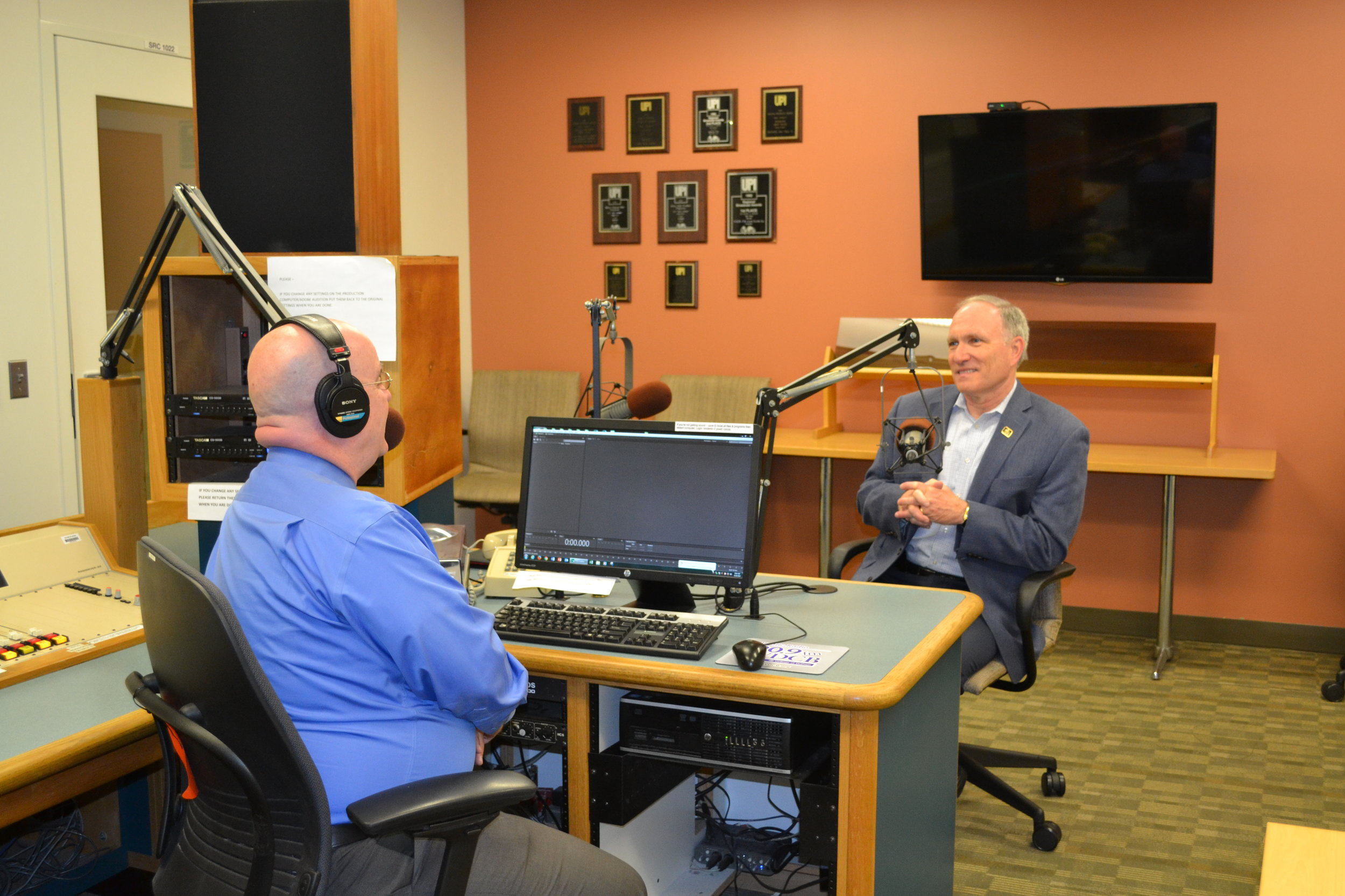 College of DuPage interim president Dr. Brian Caputo joined First Light host Brian O'Keefe in the studio for a discussion of his priorities. The COD Board will formally high Caputo as the college's 7th president later this month