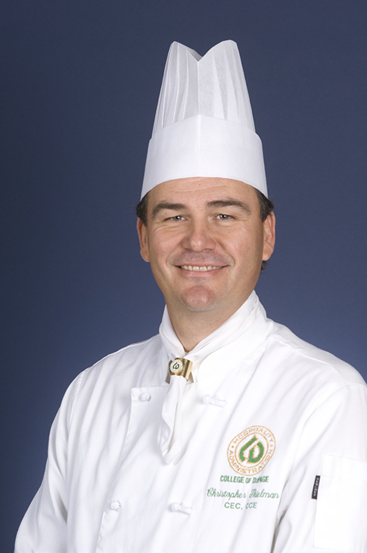 College of DuPage Culinary Arts professor Chris Thielman discussed grilling with First Light