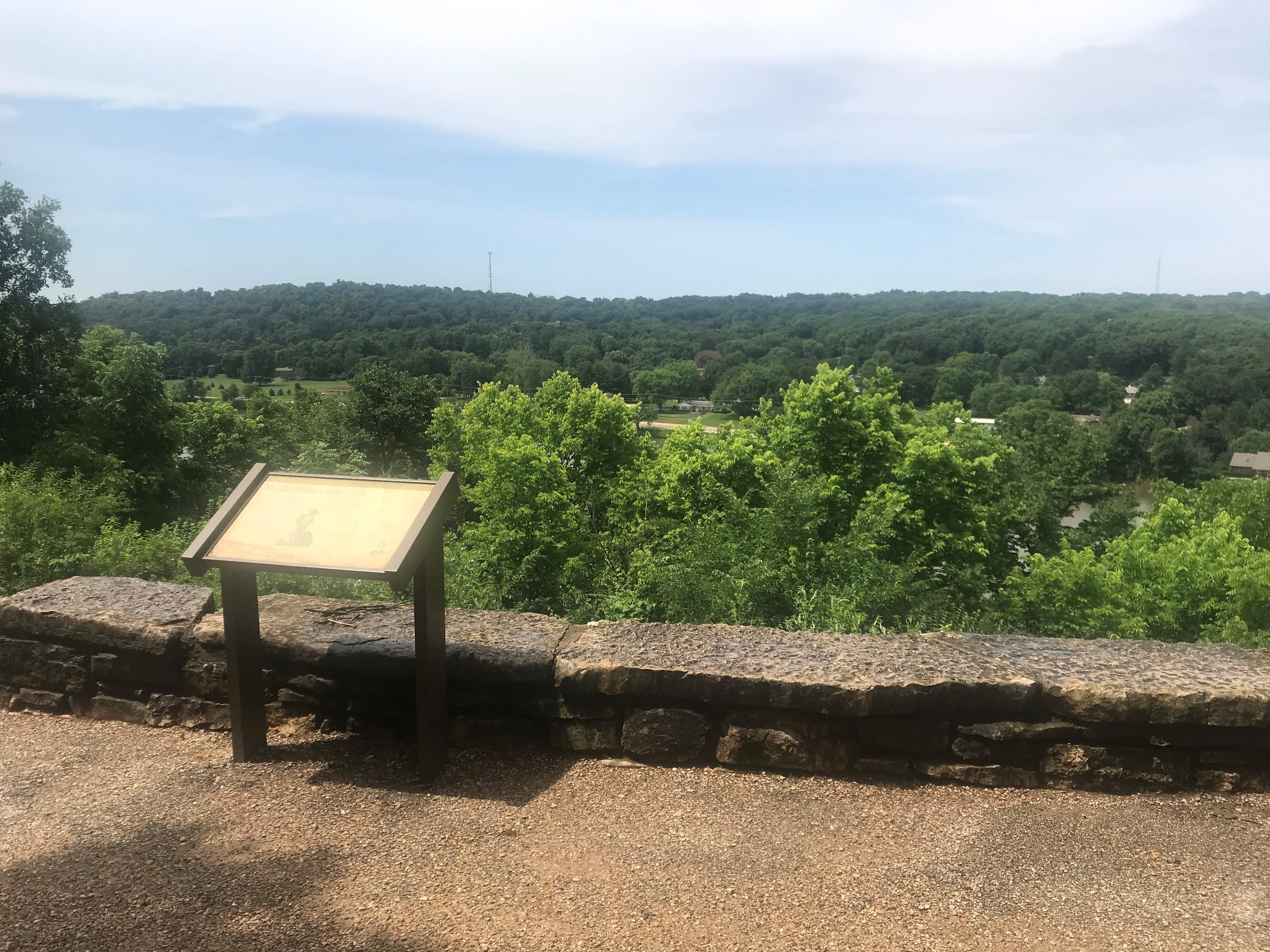 The Eternal Indian has enjoyed this incredible view of the Rock River Valley for nearly 110 years