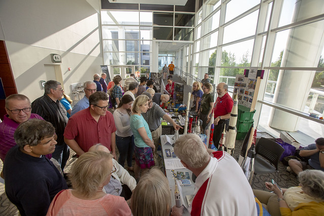 Close to 500 people attended the Apollo 11 50th anniversary celebration at College of DuPage